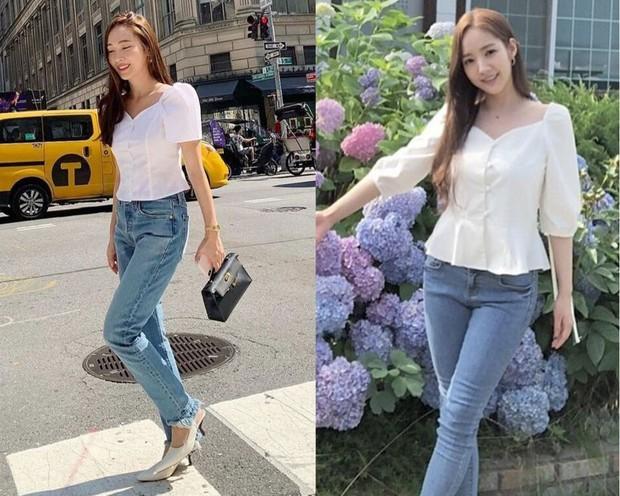 Tái hiện set đồ Park Min Young diện từ 1 năm trước, Jessica hơn thư ký Kim về độ trẻ trung nhưng lại thua về độ gợi cảm - Ảnh 4.
