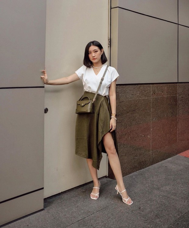 Street style châu Á: Đơn giản mà vẫn cuốn hút, nàng công sở học ngay để lên đồ cho cả tuần mặc đẹp - Ảnh 4.
