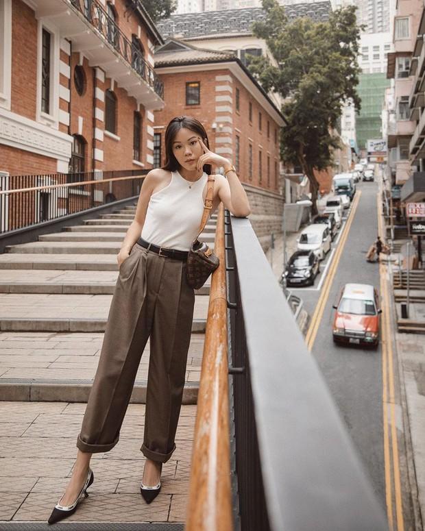 Street style châu Á: Đơn giản mà vẫn cuốn hút, nàng công sở học ngay để lên đồ cho cả tuần mặc đẹp - Ảnh 6.