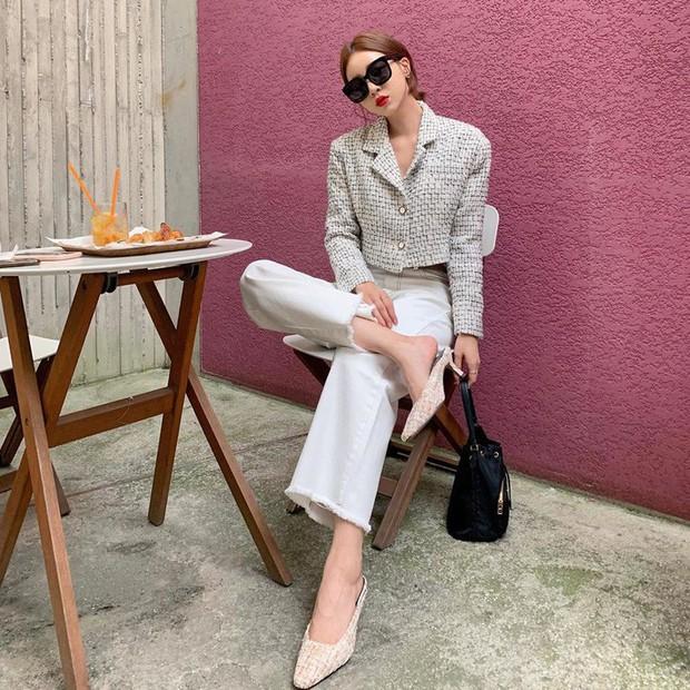 Street style châu Á: Đơn giản mà vẫn cuốn hút, nàng công sở học ngay để lên đồ cho cả tuần mặc đẹp - Ảnh 8.