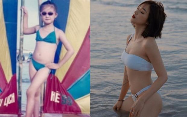 Chơi lớn diện bikini 2 mảnh sau 20 năm, Salim chứng minh: Đường cong body mỗi lúc một gắt chứ khí chất thì lúc nào cũng thừa nhá! - Ảnh 1.