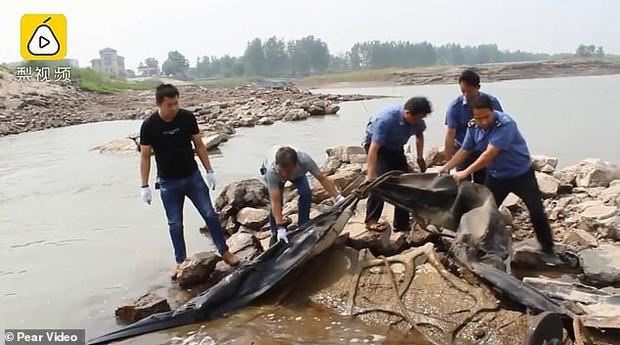 Cư dân mạng bật ngửa khi cảnh sát phơi bày sự thật về quái vật hồ Loch Ness phiên bản Trung Quốc từng khiến bao người khiếp sợ - Ảnh 3.