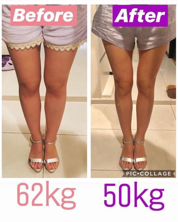 Từ 78kg xuống 50kg, cô gái người Nhật lột xác với đường cong siêu chuẩn khiến ai nhìn cũng ghen tị - Ảnh 8.
