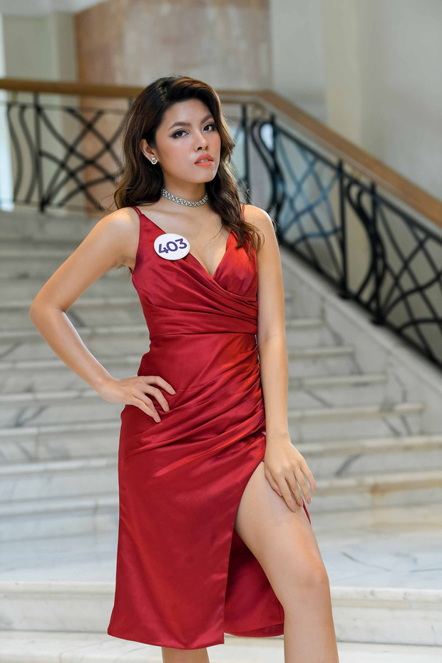Nhan sắc chênh lệch của thí sinh Hoa hậu Hoàn vũ miền Bắc: Người được khen vì xinh lạ, kẻ lộ rõ khuyết điểm kém xinh - Ảnh 7.