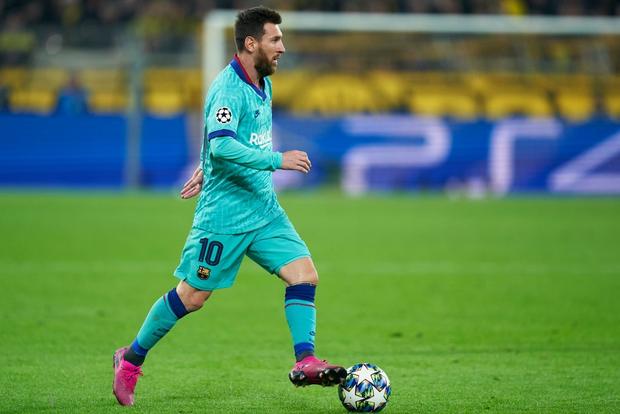 Messi nhạt nhòa ngày trở lại sân cỏ, Barca hú hồn rời sân Dortmund với 1 điểm - Ảnh 3.