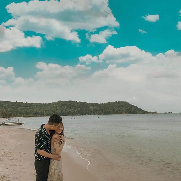 Trước khi công khai hẹn hò, Sĩ Thanh và Huỳnh Phương Fap TV từng lén lút đi du lịch Phú Quốc lãng mạn - Ảnh 3.