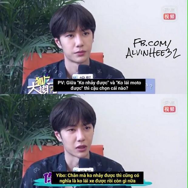 Nam thần phỏng vấn gọi tên Chu Nhất Long: Không thích cà khịa như đàn em Vương Nhất Bác, rất ôn nhu với phóng viên - Ảnh 8.