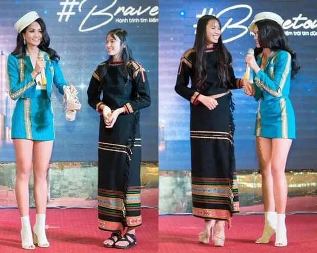 HLuăi Hwing: Cô bé Ê-đê 18 tuổi được HHen Niê chiêu mộ đi thi Hoa hậu lột xác thành bản sao Phạm Hương - Ảnh 3.