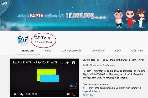 HOT: FAP TV - nhóm hài đầu tiên ở Việt Nam xác lập kỷ lục nút kim cương với 10 triệu lượt theo dõi trên Youtube! - Ảnh 2.