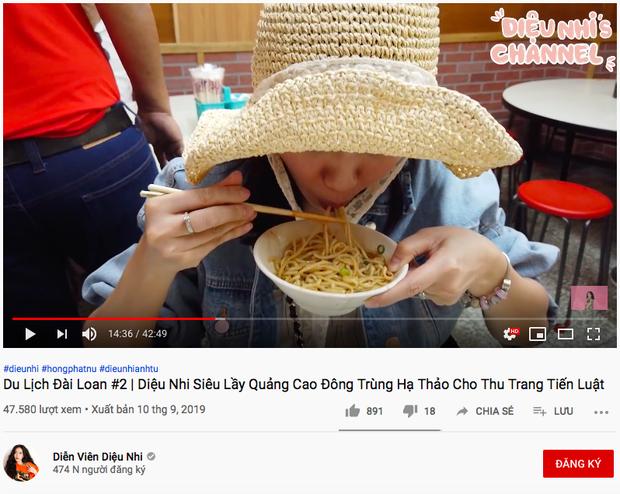 """Khi các sao nữ nổi hứng làm Youtube ăn uống: Châu Bùi - Diệu Nhi đối lập ngọt ngào - """"lầy lội"""", nhưng """"ngược đời"""" nhất phải là Ngọc Trinh - Ảnh 14."""