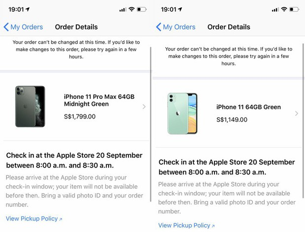 Thử order iPhone 11 & iPhone 11 Pro tại Singapore: Đây là lý do bạn không nên mua iPhone 11 quá sớm - Ảnh 2.
