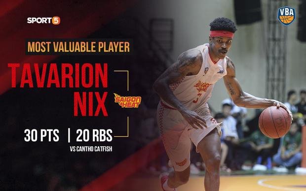 Tavarion Nix – MVP Finals 2019 và hành trình chứng tỏ bản thân của một trong những ngoại binh từng được cho tệ nhất của VBA - Ảnh 1.
