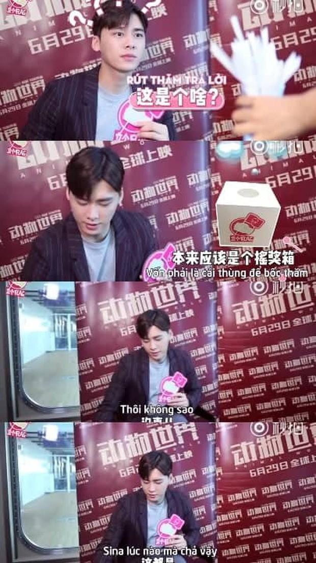 Nam thần phỏng vấn gọi tên Chu Nhất Long: Không thích cà khịa như đàn em Vương Nhất Bác, rất ôn nhu với phóng viên - Ảnh 13.
