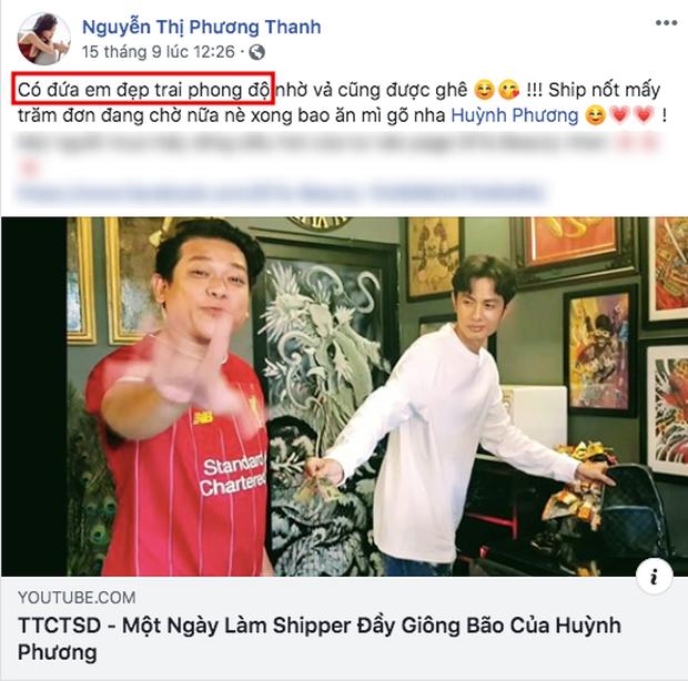 Soi ra bằng chứng hẹn hò hiếm hoi của Sĩ Thanh và Huỳnh Phương, còn khéo tạo bình phong là em trai mưa! - Ảnh 1.