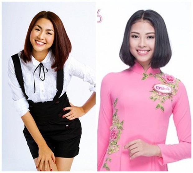 Hoa hậu Hoàn vũ Việt Nam 2019: Tường Linh là em gái sinh đôi của Thúy Vân? - Ảnh 5.