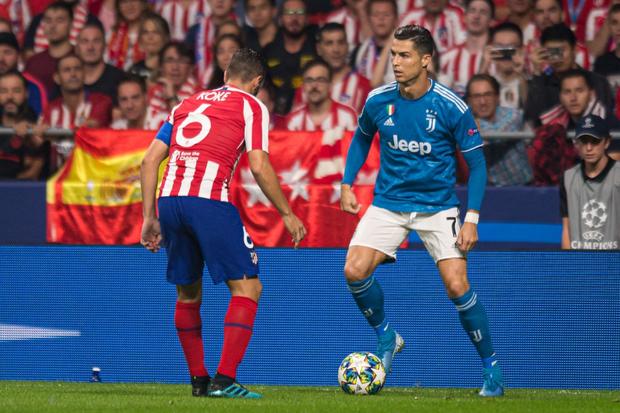 CR7 tịt ngòi, Juventus chia điểm trên sân của Atletico Madrid dù dẫn trước 2-0 - Ảnh 1.