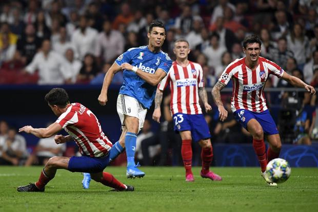 CR7 tịt ngòi, Juventus chia điểm trên sân của Atletico Madrid dù dẫn trước 2-0 - Ảnh 11.