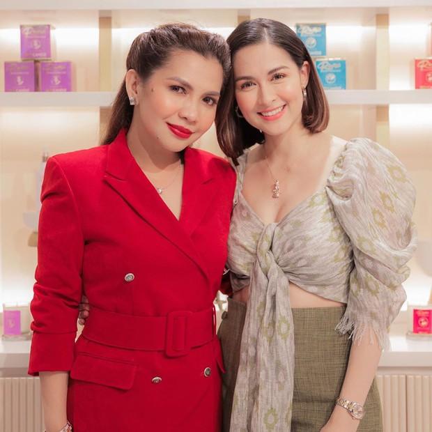 Đi dự khai trương thôi mà mỹ nhân đẹp nhất Philippines vẫn gây sốt vì quá xinh, vòng 1 lấp ló hút mắt - Ảnh 3.