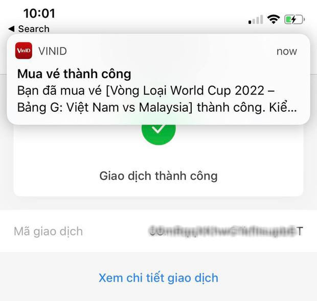 Vòng loại World Cup 2022: Vé trận Việt Nam gặp Malaysia hết sau 3 phút mở bán online - Ảnh 5.