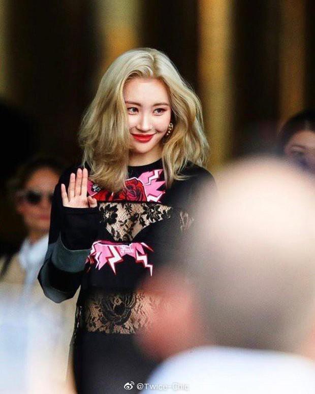 Đang từ nữ thần thảm đỏ Cannes, Quan Hiểu Đồng biến mình thành thảm hoạ khi đứng cạnh mỹ nhân gợi cảm Sunmi - Ảnh 6.