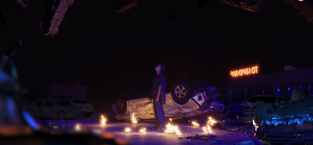 Fan khóc thét vì bộ ảnh giữa đêm khoe múi sexy của Kai nhưng bối cảnh trường quay MV của SuperM mới gây choáng ngợp - Ảnh 7.