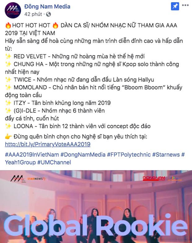 Chính thức lộ diện line up idol nữ Kpop tham dự AAA 2019: BLACKPINK vắng mặt, TWICE, Red Velvet cùng loạt tân binh sừng sỏ sẽ đến Việt Nam! - Ảnh 2.