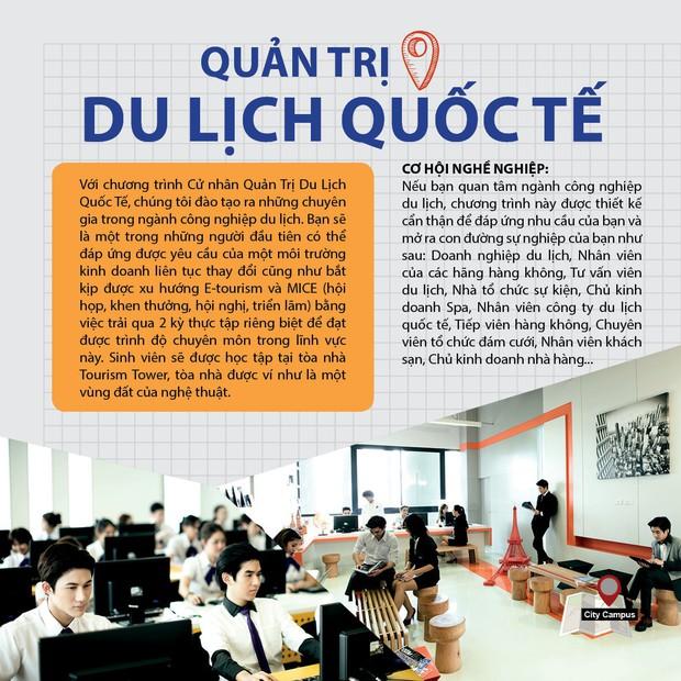 Khám phá Đại học BangKok, ngôi trường đẹp bậc nhất Thái Lan, đứng đâu cũng có ảnh sống ảo siêu đẹp - Ảnh 4.