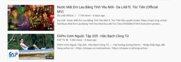 Sức nóng từ nút kim cương lẫn chuyện tình của thành viên FAPTV vẫn không ngăn được Da LAB và Tóc Tiên lần thứ 3 lên đỉnh Top Trending! - Ảnh 3.