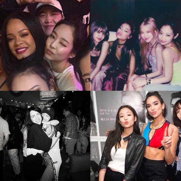 Đời fangirl chỉ cần được như Jennie (BLACKPINK) là mãn nguyện: Thích ai là gặp gỡ, giao lưu được tất tần tật idol ở hậu trường! - Ảnh 1.