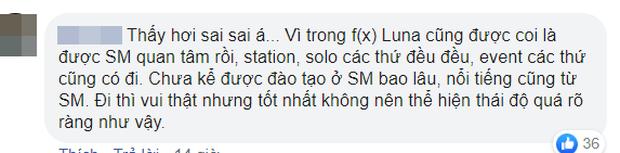 """Cười cợt cà khịa SM khi được chúc mừng rời công ty, Luna f(x) hứng trọn chỉ trích do """"ăn cháo đá bát"""" - Ảnh 7."""