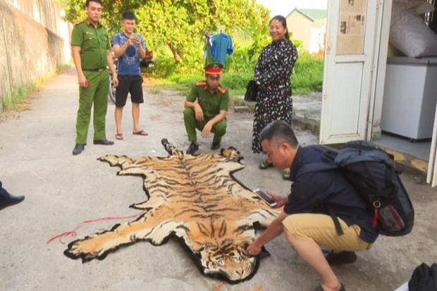 Hổ 240kg còn sống trên đường từ Nghệ An ra Quảng Ninh nấu cao - Ảnh 2.