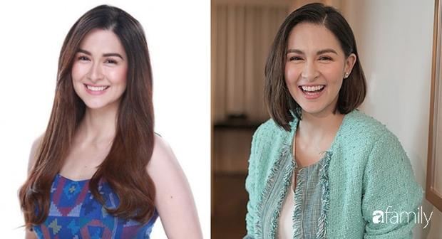 Vừa cắt tóc, mẹ 3 con đẹp nhất Philippines khiến dân tình ngỡ ngàng vì quá giống Song Hye Kyo - Ảnh 4.