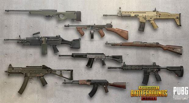 PUBG Mobile: Những cách sắp xếp vũ khí thích hợp để có đội hình hoàn hảo nhất! - Ảnh 1.