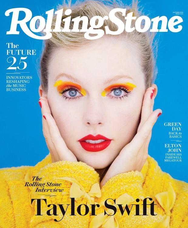 Loạt ảnh chụp tạp chí của Taylor Swift gây bão mạnh: Nhan sắc cực phẩm, thần thái đã chạm mức đỉnh cao - Ảnh 1.