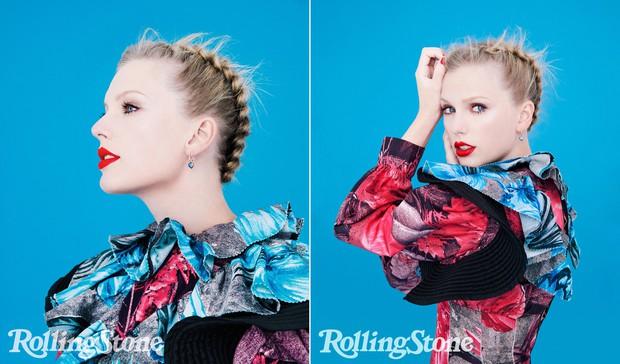 Loạt ảnh chụp tạp chí của Taylor Swift gây bão mạnh: Nhan sắc cực phẩm, thần thái đã chạm mức đỉnh cao - Ảnh 3.