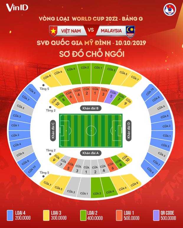 Vòng loại World Cup 2022: Vé trận Việt Nam gặp Malaysia hết sau 3 phút mở bán online - Ảnh 6.