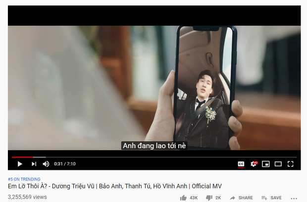 Lê Bảo Bình đã vượt qua Bích Phương, Dương Triệu Vũ kiên trì vươn lên top 5 trending trong kỳ nghỉ lễ! - Ảnh 2.