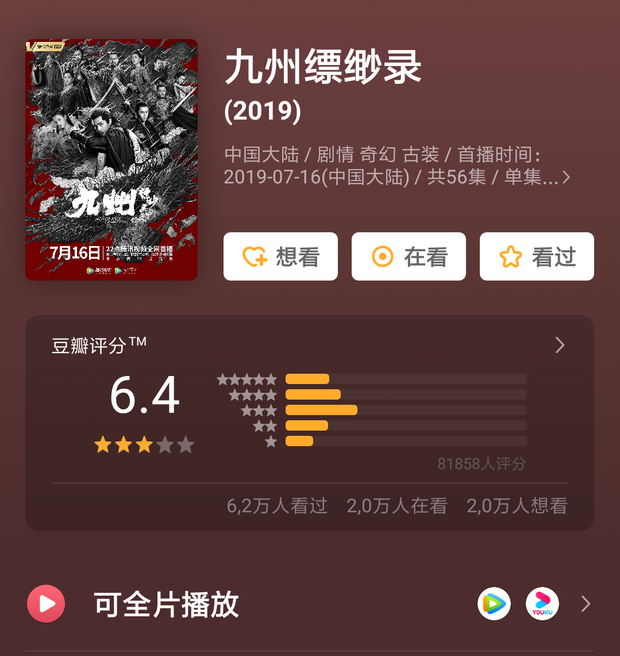 """Tiểu Hoan Hỉ dẫn đầu xu hướng phim Hoa Ngữ tháng 8, bàn tay vàng Vu Chính sao lại chịu """"lép vế"""" thế này? - Ảnh 24."""