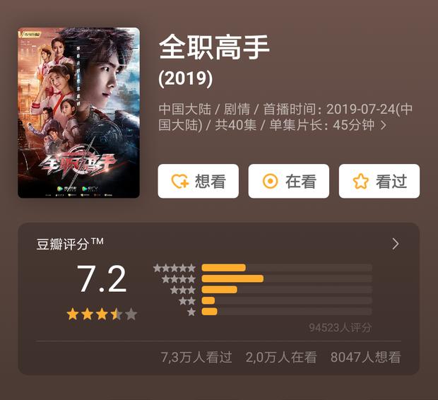 """Tiểu Hoan Hỉ dẫn đầu xu hướng phim Hoa Ngữ tháng 8, bàn tay vàng Vu Chính sao lại chịu """"lép vế"""" thế này? - Ảnh 19."""