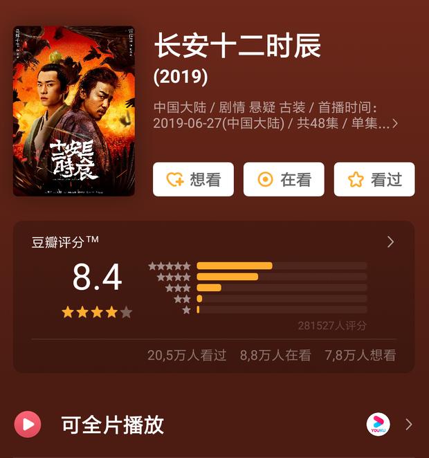 """Tiểu Hoan Hỉ dẫn đầu xu hướng phim Hoa Ngữ tháng 8, bàn tay vàng Vu Chính sao lại chịu """"lép vế"""" thế này? - Ảnh 6."""