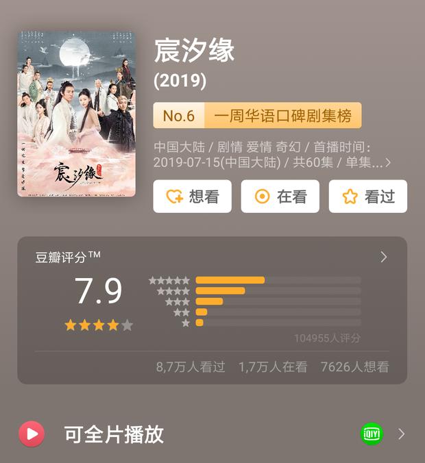 """Tiểu Hoan Hỉ dẫn đầu xu hướng phim Hoa Ngữ tháng 8, bàn tay vàng Vu Chính sao lại chịu """"lép vế"""" thế này? - Ảnh 12."""
