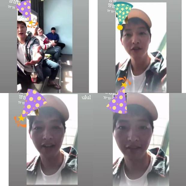 Đón sinh nhật đầu tiên hậu ly hôn, Song Joong Ki vừa khóc vừa lộ clip trông hốc hác đáng báo động - Ảnh 2.