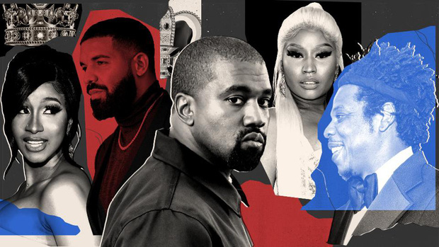 """Hay tin Nicki Minaj trở thành nữ rapper """"cá kiếm"""" nhất năm, Cardi B vội vã """"cà khịa"""" để đòi lại công bằng - Ảnh 1."""