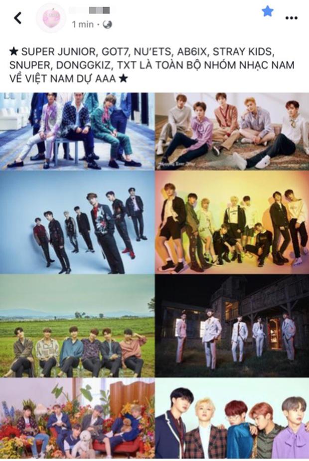 Rần rần tin xác nhận dàn line-up idol nam đổ bộ AAA 2019, nhưng nguồn tin lộ từ các fanpage Kpop còn BTC AAA 2019 đâu rồi? - Ảnh 4.
