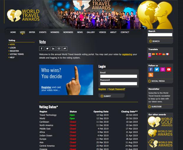 HOT: Việt Nam có 6 đề cử cho giải thưởng du lịch thế giới (WTA) với 1 hạng mục lần đầu tiên xuất hiện, bình chọn ngay từ bây giờ! - Ảnh 9.
