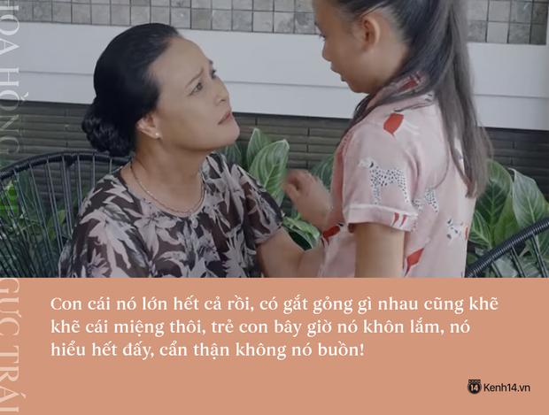 Học thuộc lòng 9 câu thoại để đời của mẹ chồng quốc dân Hoa Hồng Trên Ngực Trái: Mẹ cấm con xúc phạm vợ mình! - Ảnh 2.