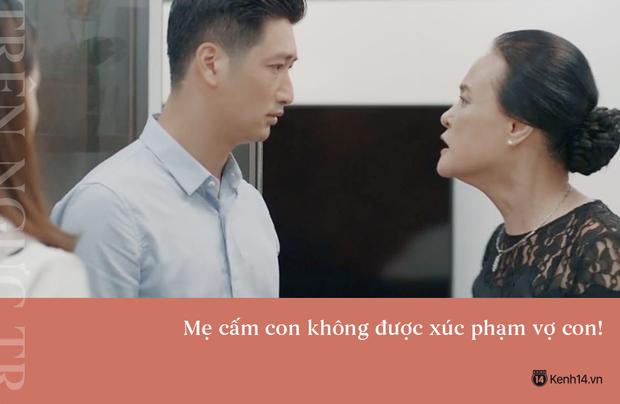 Học thuộc lòng 9 câu thoại để đời của mẹ chồng quốc dân Hoa Hồng Trên Ngực Trái: Mẹ cấm con xúc phạm vợ mình! - Ảnh 4.