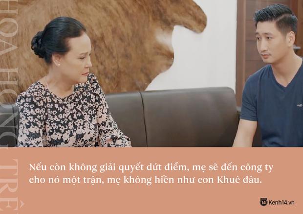 Học thuộc lòng 9 câu thoại để đời của mẹ chồng quốc dân Hoa Hồng Trên Ngực Trái: Mẹ cấm con xúc phạm vợ mình! - Ảnh 6.