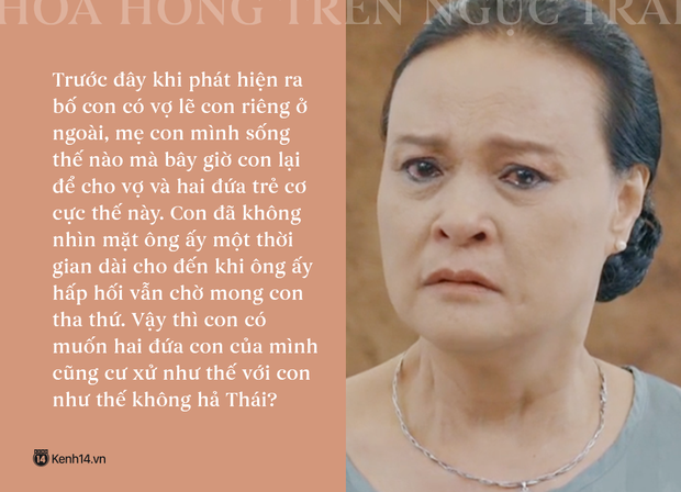Học thuộc lòng 9 câu thoại để đời của mẹ chồng quốc dân Hoa Hồng Trên Ngực Trái: Mẹ cấm con xúc phạm vợ mình! - Ảnh 10.