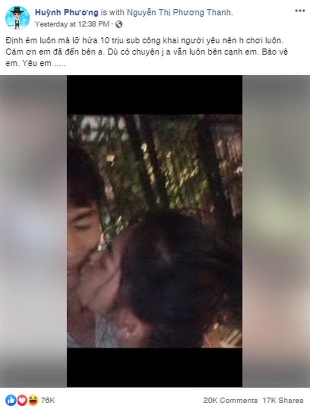 Trước khi hẹn hò với Sĩ Thanh, Huỳnh Phương từng hôn bạn gái cũ đắm đuối trên truyền hình - Ảnh 1.